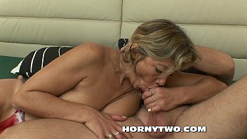 blonde fat mature with big tits fucked by.