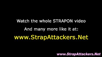 strapon femdom hotties dominate loser