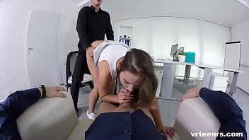 schoolgirl naomi fucked by 2 guys.