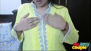 indian bhabhi sonia in yellow shalwar suit getting.