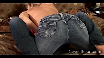 naughty blonde lezzie seduces beautiful blonde.
