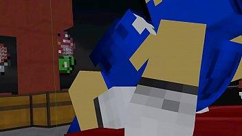 animation minecraft porno sonics