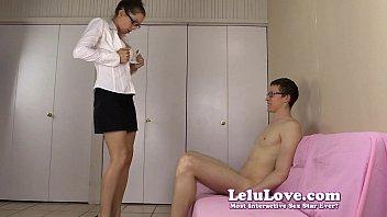 amateur girl gives him striptease then blowjob to.