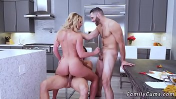 boss'_s step daughter consoles dad and mother lust.