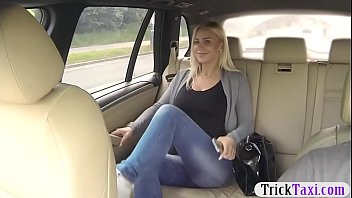 czech babe drilled by nasty driver in public location