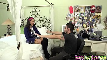 bible teacher stretch maya grands anal and fuck.