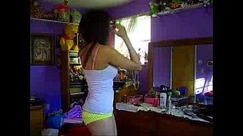 sexy amateur babe strips naked -.