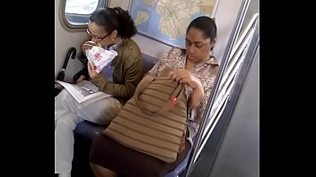 thick jamaican mature legs on 2 train in.
