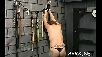 top notch non-professional servitude sex scenes with fine beauty