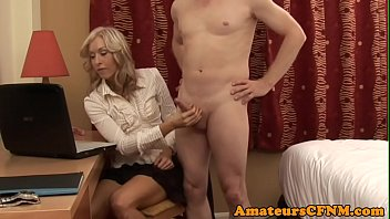 british cfnm milf tugging and stroking.