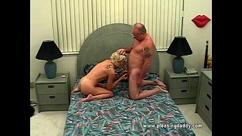 young horny slut sucking old mans.