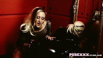 blonde milf lesbian slave bondage