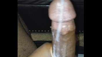 stroking my dick til i busted a phat nut