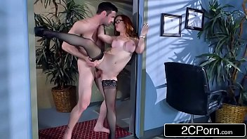 redhead dani jensen gets pounded at.