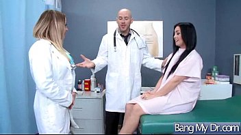 hot patient (payton west) and doctor in sex.