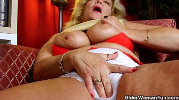 grandma'_s old and hairy pussy needs to get off