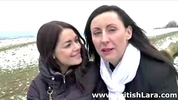 milf meets young slut outdoors for.