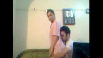 arab guy quikie with neighbour whiel.
