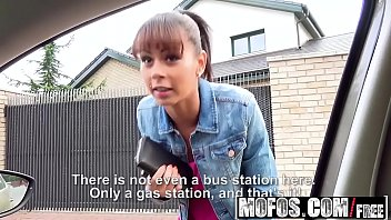 mofos - stranded teens - sex outside with.