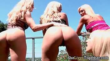 amazing hot blonde teen sluts with.