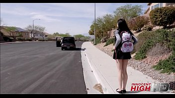 young high school girl marley brinx picked up.