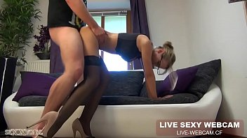 333cams.ml bespectacled lady with long legs entertains with dude