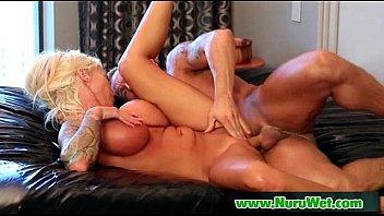 nuru massage and hardcore sex in the shower 28