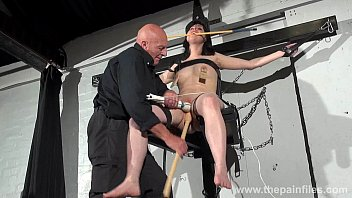 crossed bondage tit tortures and sexual domination of.