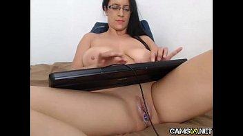 big tit milf creamy pussy play on webcam.
