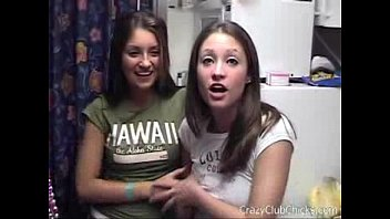 two stoned college girls up for.