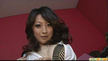 brunette asian girl asuka fondled and.