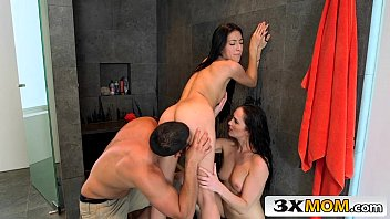 stepmom threesome session with lovely couple - bianca.