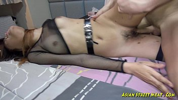 my cock deep in her asian.
