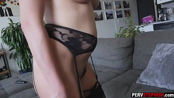 busty milf stepmom coached her super.