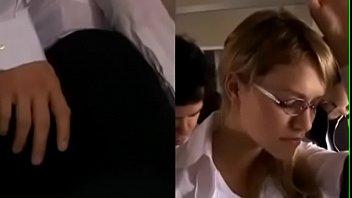 hot babe mia malkova gets gropped and fucked.