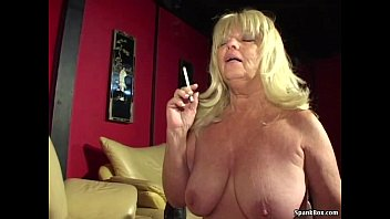 big titted smoking granny sucks hard.