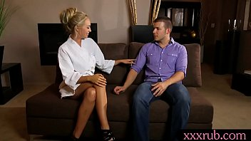 sexy blonde masseuse gets banged by her pervert client