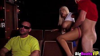 massive tits blonde bridgette b is horny at.