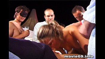 amateur gangbang with 6 girls and 159 men!.