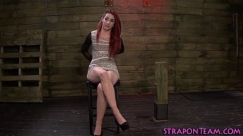 domina bangs tied slave