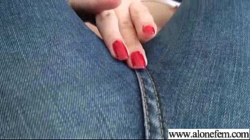 alone horny girl insert all things in holes video-23