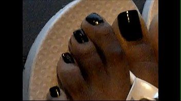 hood milf black toenails