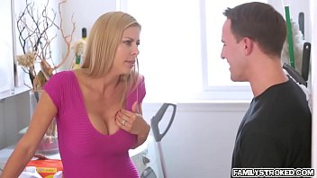charming alexis loves to drilled hard.