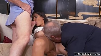 old man fuck young staycation with a latin hottie