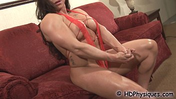 brandi loves her biceps and muscles