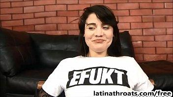 extreme face fucking for petite latina.