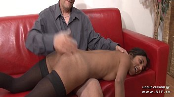 casting couch amateur french couple with a skinny.