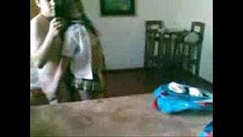 cogiendo a chica de la prepa con su uniforme