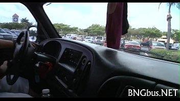 gangbang bus mobile