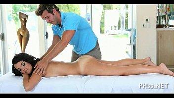 oil massage with juicy oral pleasure